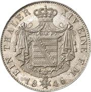 1 Thaler - Ernst II – reverse