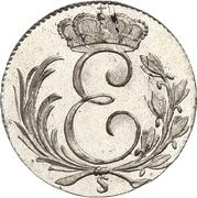 3 Kreuzer - Ernst I – obverse