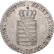 20 Kreuzer - Ernst I – obverse