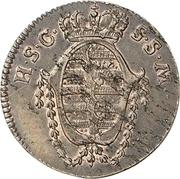 1 Pfennig - Franz Friedrich Anton – obverse