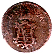 1½ Pfennig - Friedrich IV – obverse
