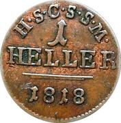 1 Heller - Ernst I. – reverse