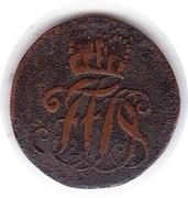 1 Pfennig - Franz Josias – obverse