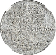 1/24 Thaler - Friedrich III (Death) – reverse