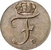 1 Pfennig - Friedrich III -  obverse
