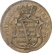 1½ Pfennig - Friedrich III – obverse