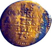 1 Heller - Friedrich III – reverse