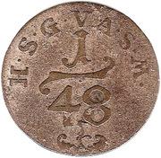 1/48 Thaler - Frederick III – reverse