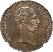 ½ Thaler - Ernst Ludwig II – obverse