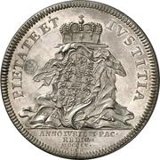 1 Thaler - Friedrich III (Peace) – reverse