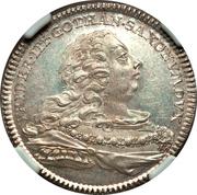 ⅓ Thaler - Friedrich II and Johann Wilhelm – obverse