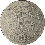 ⅔ Thaler - Friedrich I. with his 6 brothers – obverse