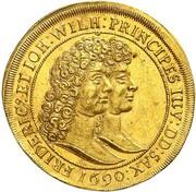 2 Ducats - Friedrich I. – reverse
