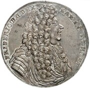 1½ Thaler - Friedrich I. – obverse