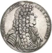 2 Thaler - Friedrich I. – obverse