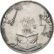 2 Thaler - Friedrich I. – reverse