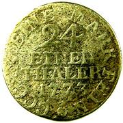 1/24 Thaler - Ernst II Ludwig – reverse