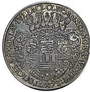 1 Thaler - Friedrich II Johann Wilhelm (Allegiance of Gotha) – reverse