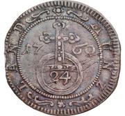 1/24 Thaler, 1 Groschen - Ernst Friedrich III Carl – reverse