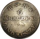 6 Kreuzer - Friedrich I – reverse