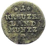 1 Kreuzer - Joseph – reverse