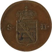 ½ Kreuzer - Friedrich I. – obverse