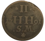2 Heller - Friedrich IV. – reverse