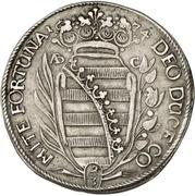 ⅔ Thaler - Bernhard II – reverse