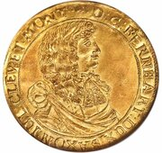 5 Ducat - Bernhard II – obverse