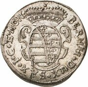 1 Groschen - Bernhard II – obverse
