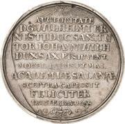1 Thaler - Johann Wilhelm – reverse