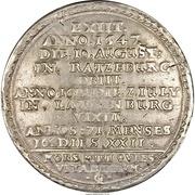 2 Thaler - Franz II (Death of Franz II) – reverse