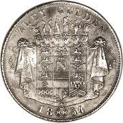 2 Gulden - Bernhard II – reverse