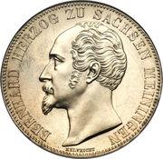 2 Thaler / 3½ Gulden - Bernhard II – obverse