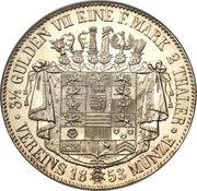 2 Thaler / 3½ Gulden - Bernhard II – reverse