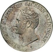 1 Gulden - Bernhard II – obverse