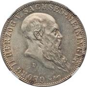 5 Mark - Georg II – obverse