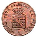 2 Pfennige - Georg II – obverse