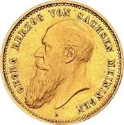 10 Mark - Georg II – obverse