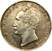 1 Gulden - Bernard II – obverse