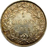 1 Gulden - Bernard II – reverse