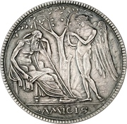 5 Mark - Georg II. – reverse