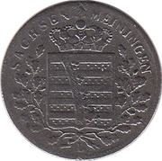 1 Kreuzer - Bernhard II – obverse