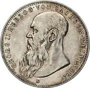 2 Mark - Georg II – obverse