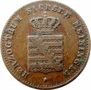 1 Pfennig - Georg II – obverse