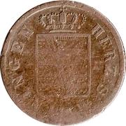 ½ Kreuzer - Bernhard II – obverse
