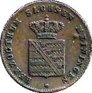 ¼ Kreuzer - Bernhard II – obverse