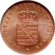2 Pfennige - Bernhard II – obverse