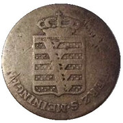 ¼ Kreuzer - Bernhard II. – obverse