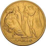5 Mark - Georg II (Gold pattern strike) – reverse